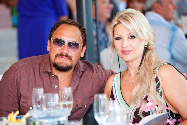 Певец со своей женой - Инной Михайловой