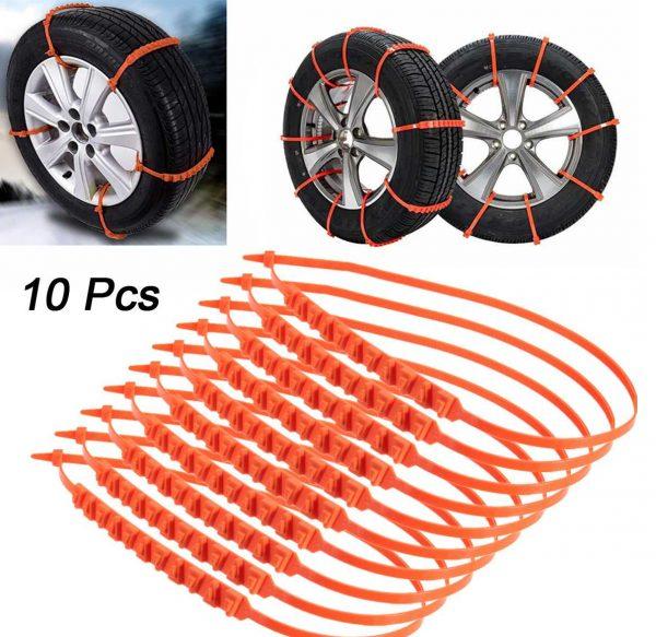 Пластиковые противоскользящие ремни для колес