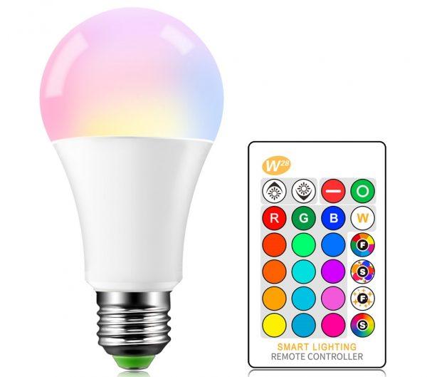 RGB-лампа с пультом дистанционного управления