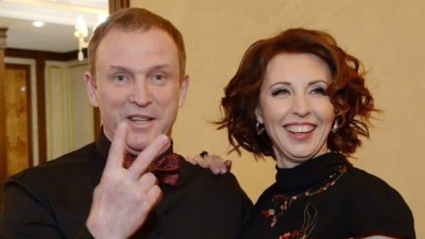 Виктор Рыбин с женой