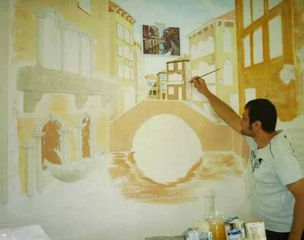Фреска живопись на штукатурке