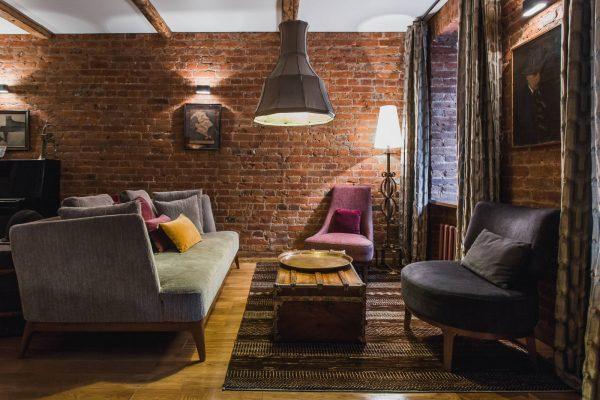 Стиль гранж в интерьере квартиры