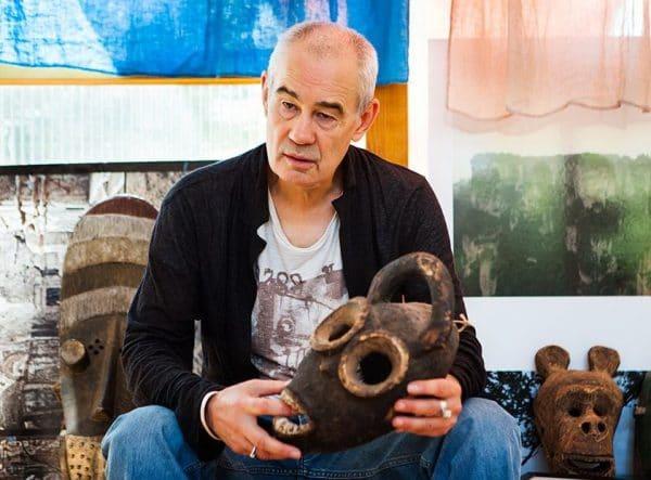 У Бодрова есть коллекция этнических масок