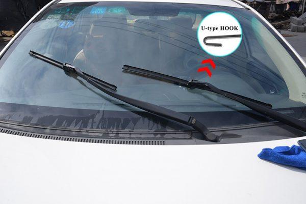 Универсальные резиновые дворники для лобового стекла автомобиля