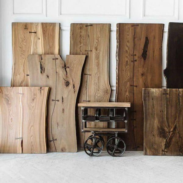 Мебель из слэба дерева