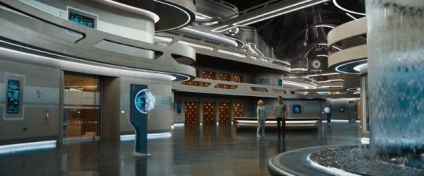 Космический корабль интерьер Sci-Fi