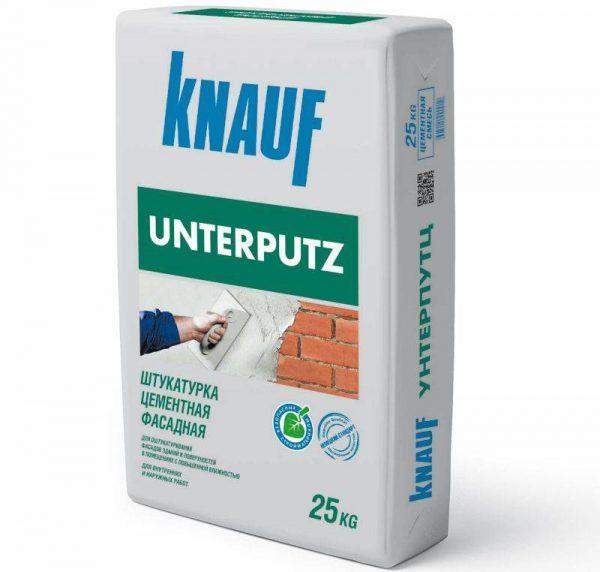 Фасадная штукатурка Knauf Unterputz на цементной основе
