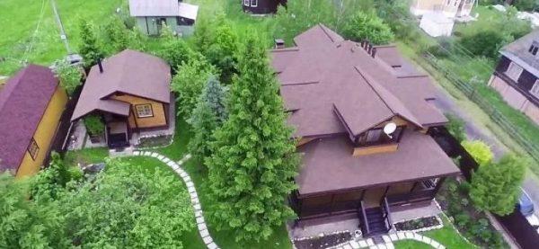 Дом Ивана Охлобыстина в Троице-Лыково
