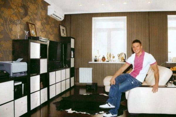 Дизайн московской квартиры Сергея Лазарева