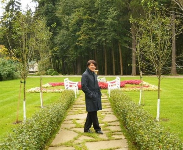 Сад родового гнезда Валентина с французской ноткой