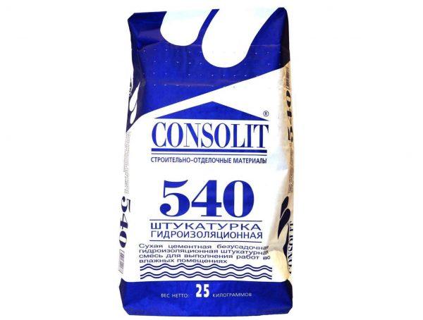 Гидроизоляционная смесь Consolit 540