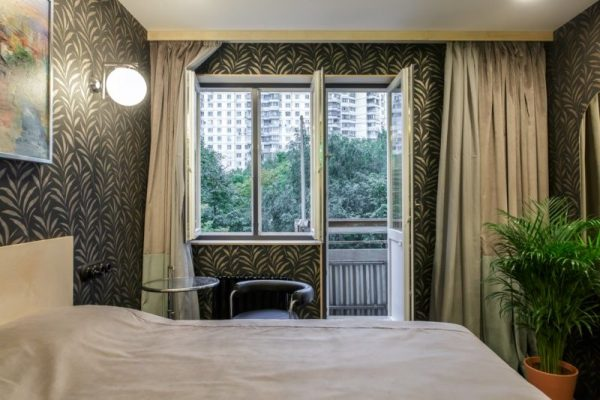 Спальня Евгения и Тамары Качаловых после ремнота в передаче «Квартирный вопрос»