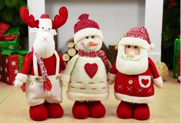 Тряпичные рождественские куклы