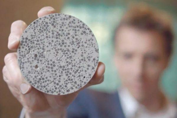 Самовосстанавливающийся эластичный биоцемент