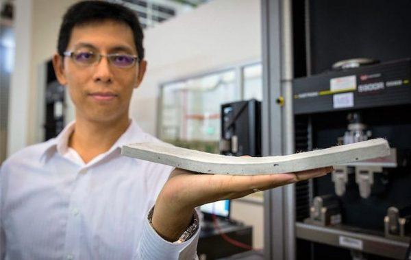 Гибкий бетон от сингапурских ученых