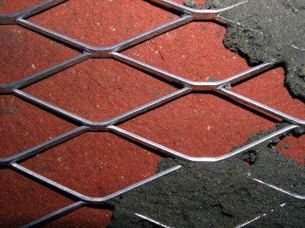 Сетка для штукатурки стен металлическая