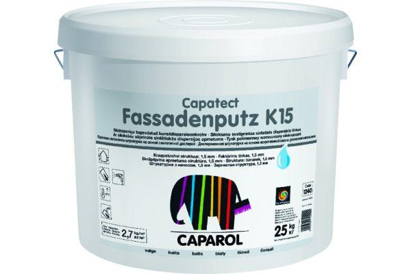 Штукатурка фасадная Caparol Capatect Fassadenputz
