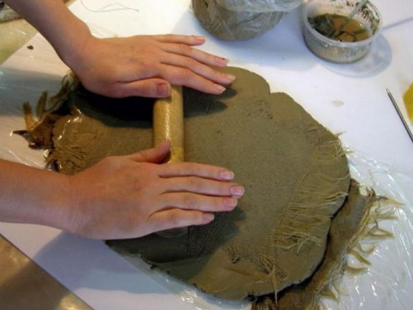 Тонкая глина для изготовления поделок