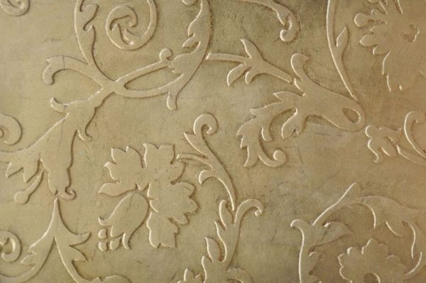 Трафарет для декора стен штукатуркой