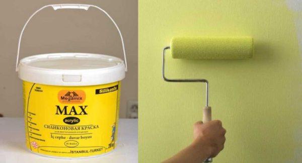 Силиконовая краска для покраски стен