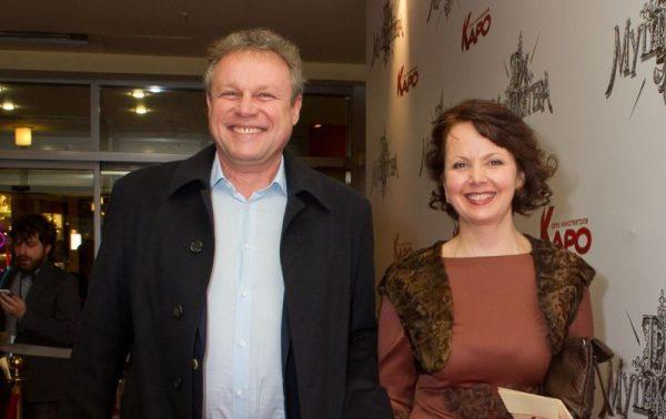 Киноактер Жигунов с первой женой Верой Новиковой
