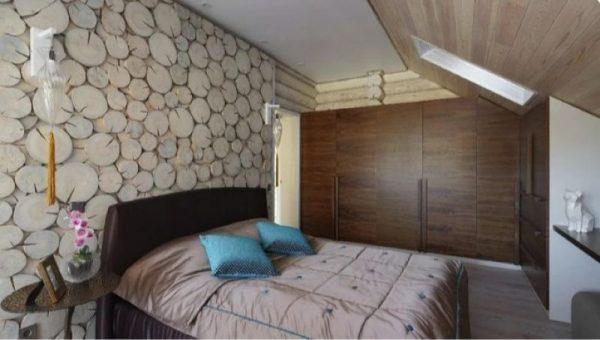 Романтическая спальня в доме Сергея Жигунова