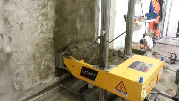 Аппарат для оштукатуривания стен