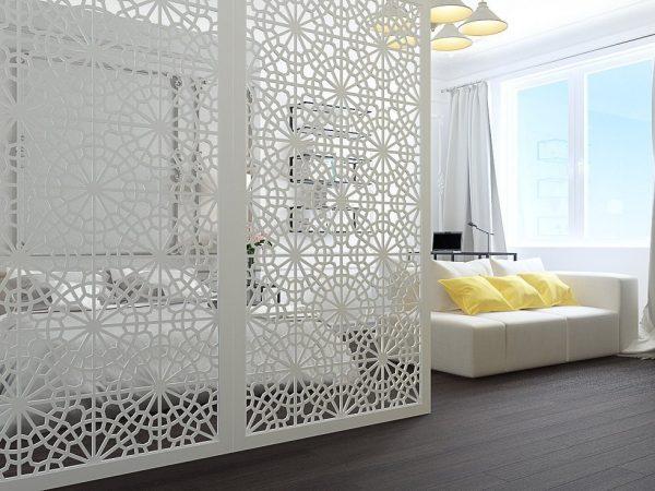 Ажурная стеновая панель