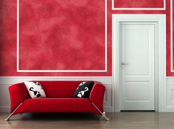 Краска для стен с эффектом бархата