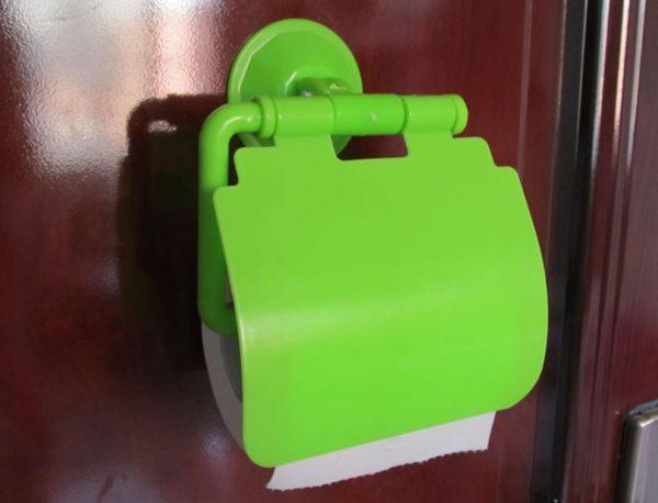 Дешевый пластмассовый держатель для туалетной бумаги