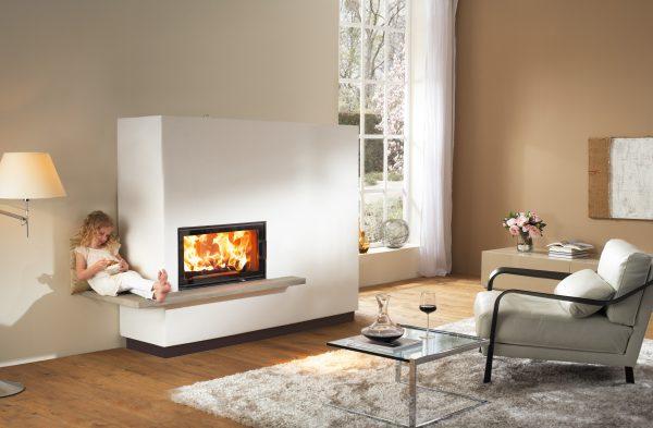 Для отделки каминов и печей используются термостойкие смеси