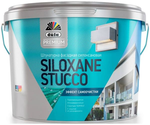 Фасадная силоксановая смесь Dufa Premium