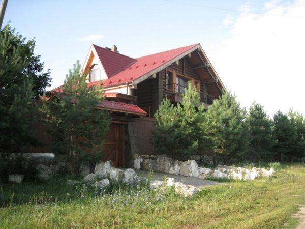 Загородный дом Сергея Безрукова