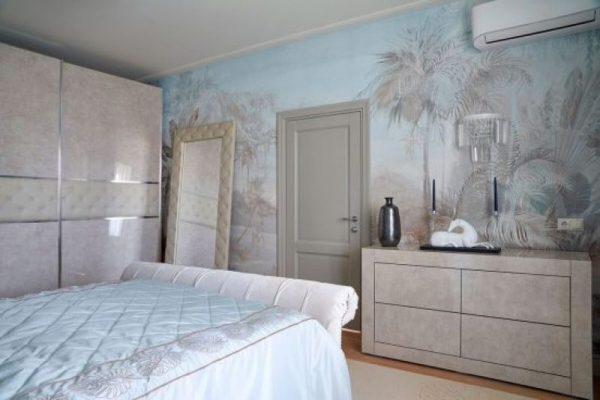 Интерьер спальни в квартире Безрукова
