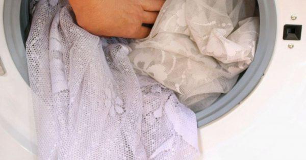 Шторы в стиральной машинке