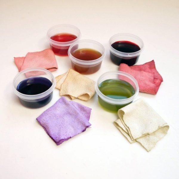 Природные красители для ткани