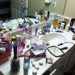 Лишние предметы в ванной комнате