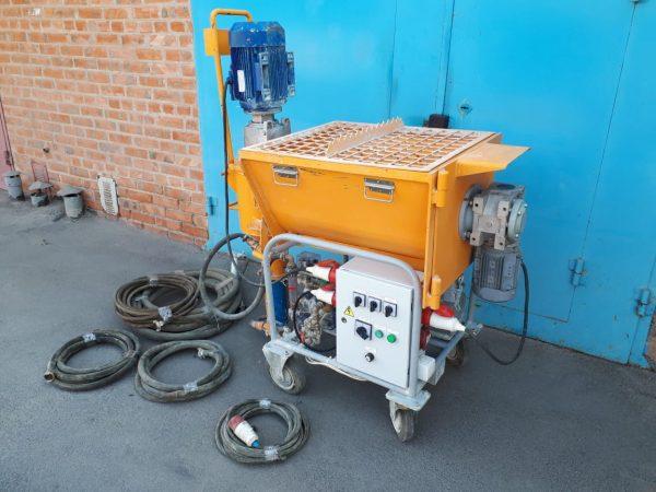 Машина для нанесения штукатурки Афалина ШМ-30