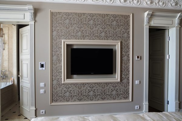 Ниша в стене под телевизор
