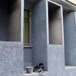 Отделка фасада шубой