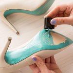 Красим обувь
