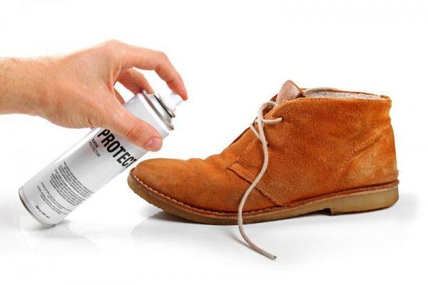 Выбор краски для замшевой обуви