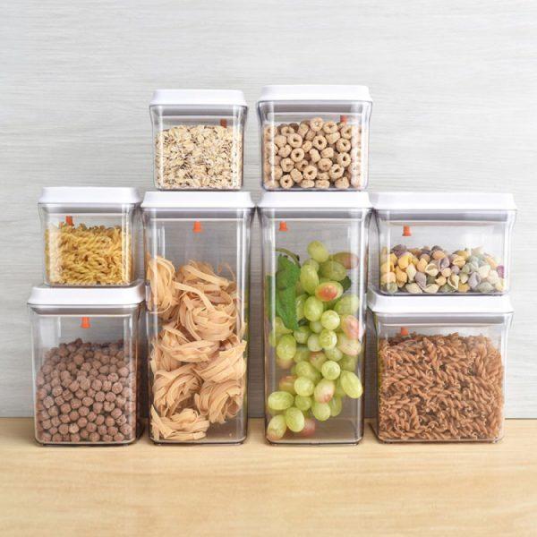 Одноразовые контейнеры для хранения сыпучих продуктов