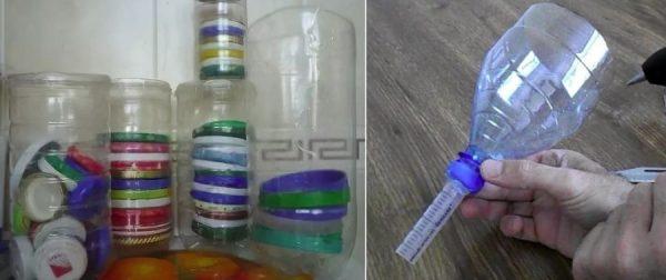 Использование пластиковых бутылок в быту