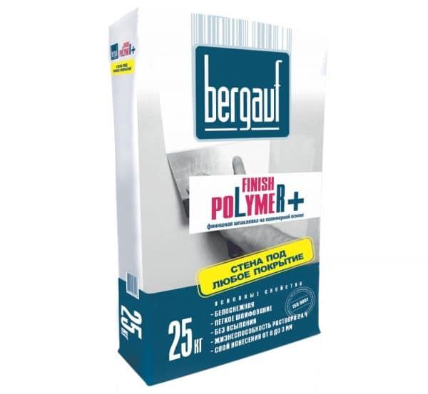 Шпатлевка Bergauf finish Polymer+