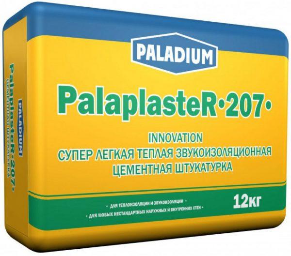 Супер легкая теплая звукоизоляционная смесь PALADIUM PalaplasteR-207