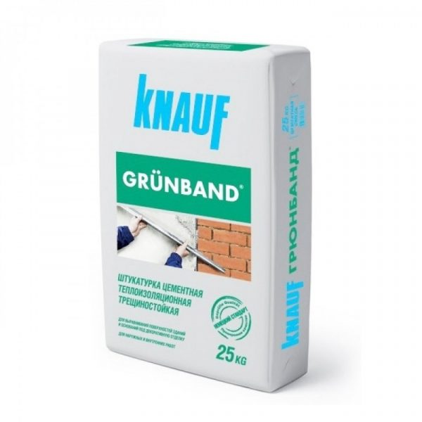 Трещиностойкая штукатурка Knauf Grunband