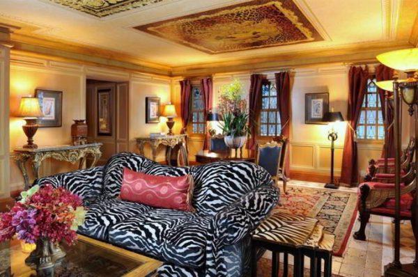 Воссоздание интерьера особняка Версаче