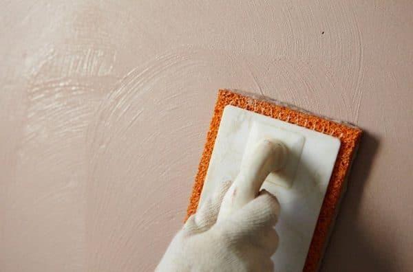 Затирание полимерного покрытия