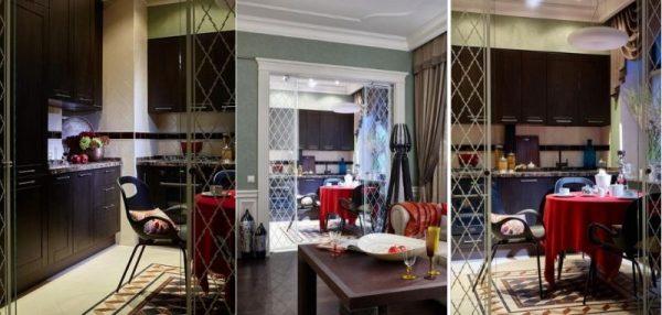 Интерьер кухни в квартире Панкратова